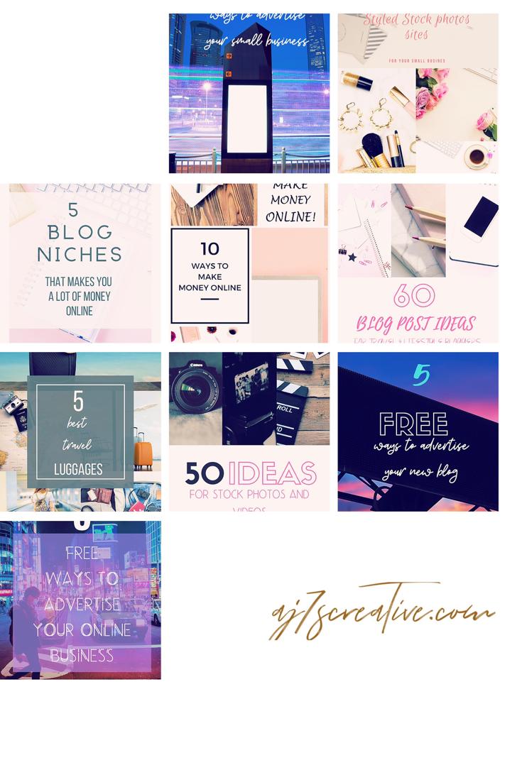 Get 30 Free Instagram Templates